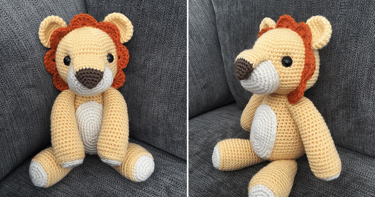 Crochet Amigurumi Lion Patterns : Laurence the lion amigurumi pattern jess huff