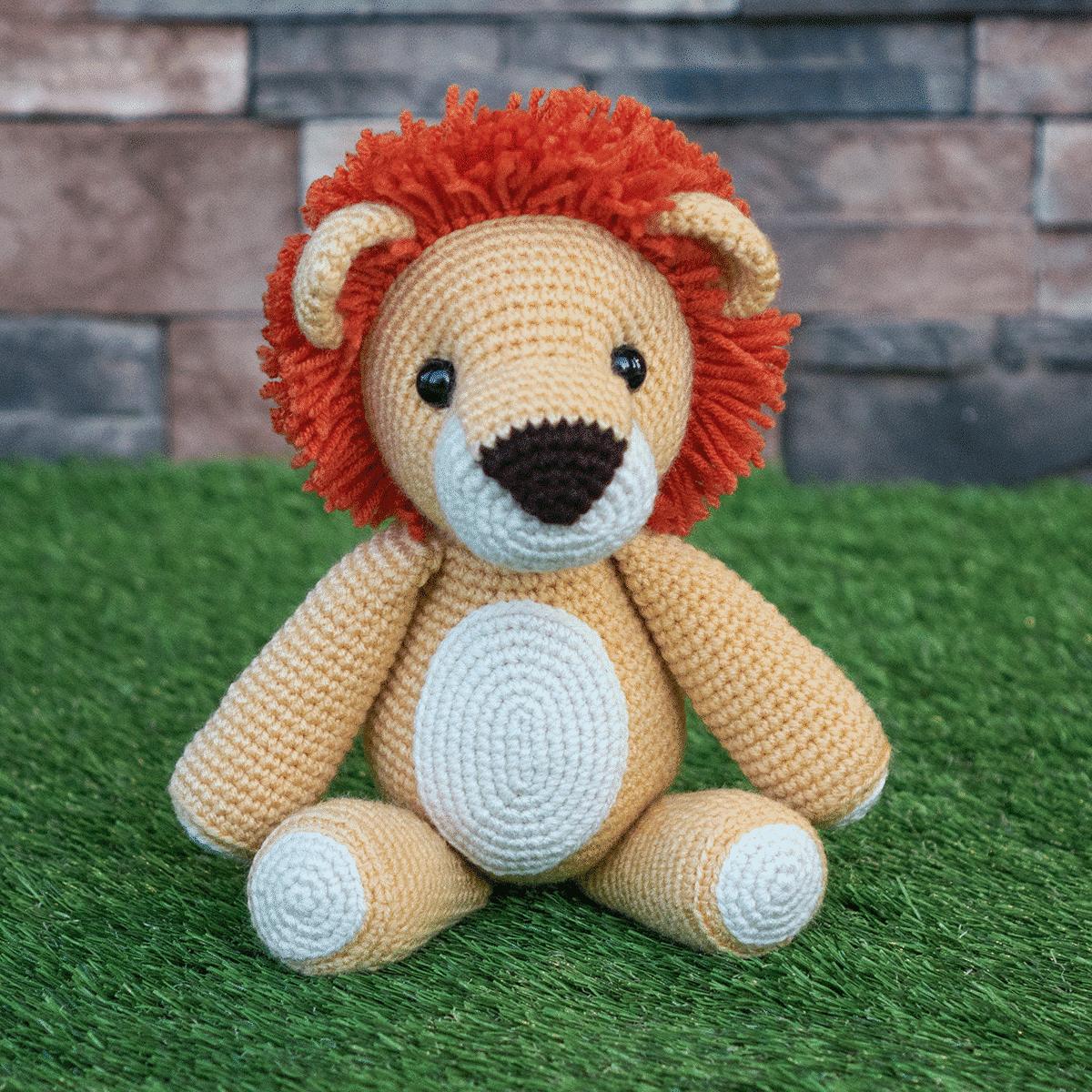 Simba Amigurumi Crochet Pattern - The Lion King | Crochet patterns ... | 1200x1200