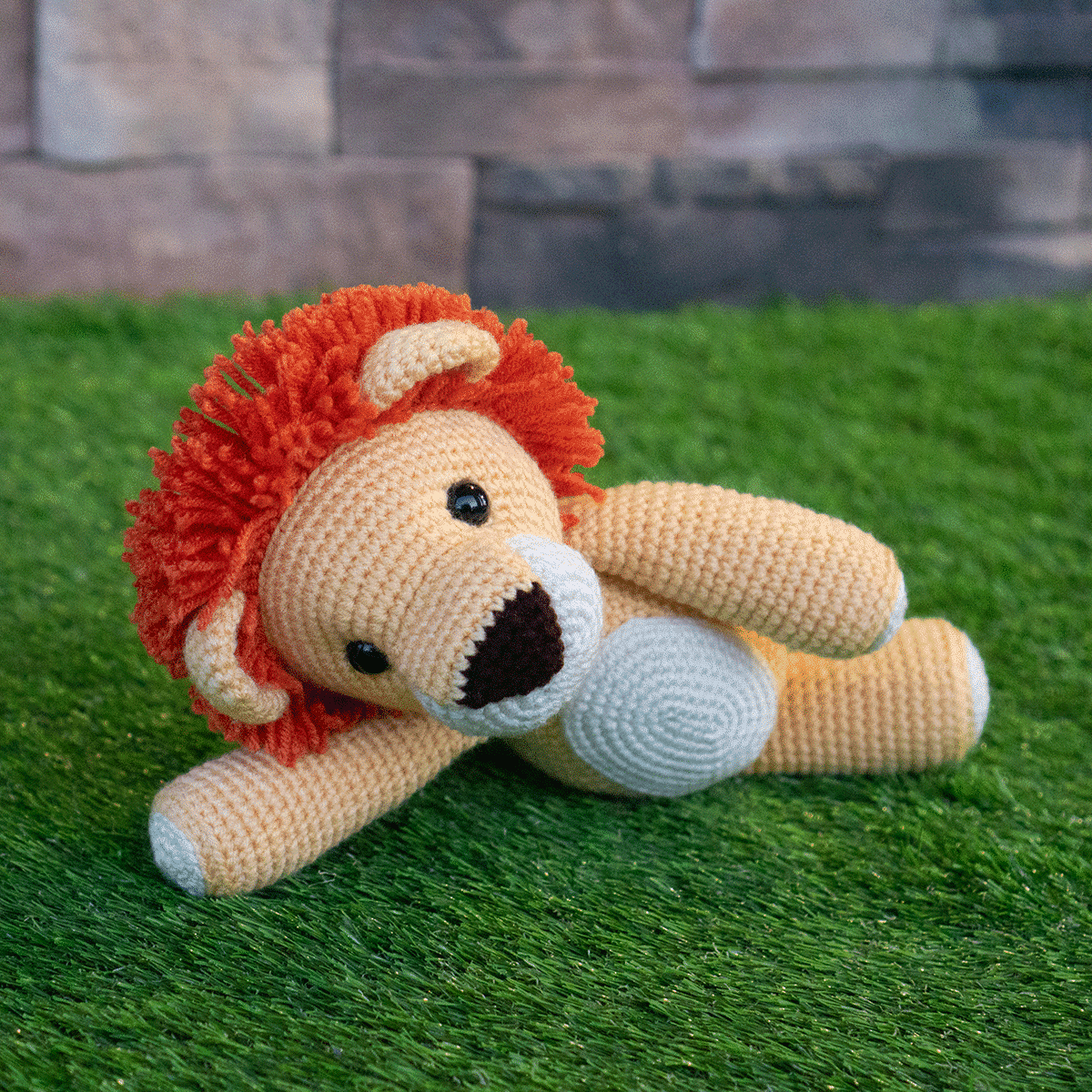 Lion Crochet PATTERN Amigurumi patterns pdf tutorial - TYRION the ... | 1200x1200