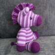 Zane the Zebra Amigurumi Pattern