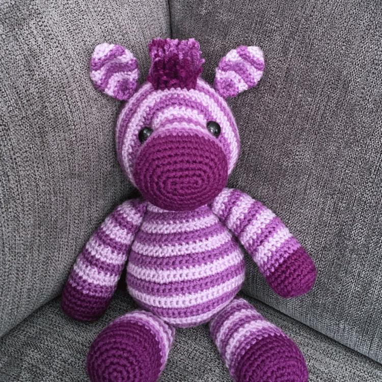 Crochet PATTERN PDF Amigurumi Zebra amigurumi pattern | Etsy | 750x750