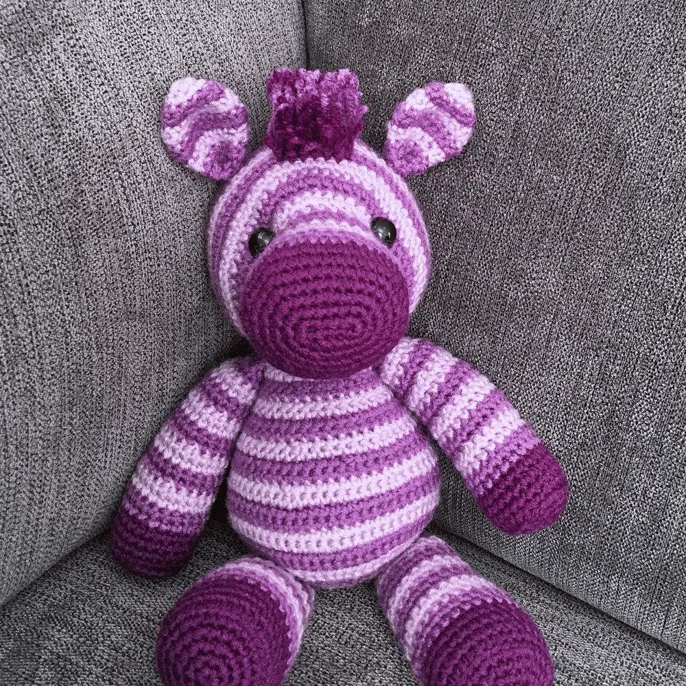 Zane the Zebra Free Amigurumi Pattern