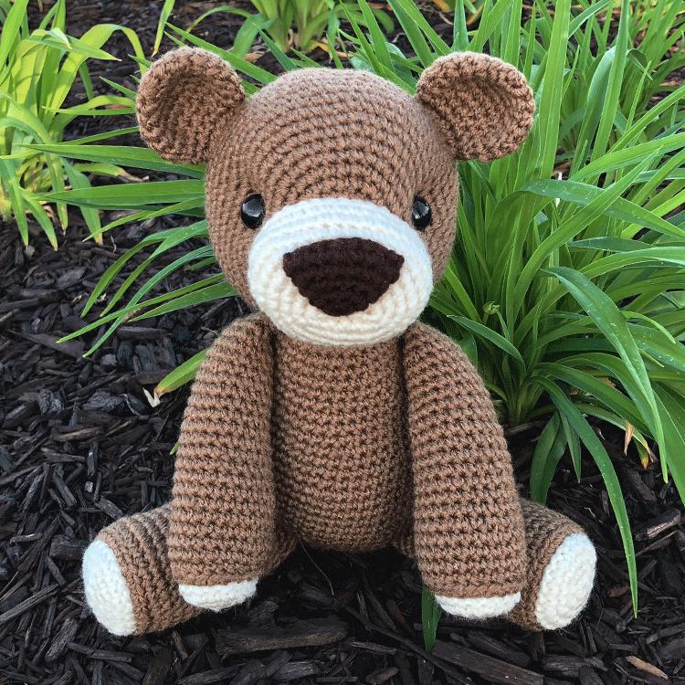 Cuddle Me Bear amigurumi pattern - Amigurumi Today | 750x750