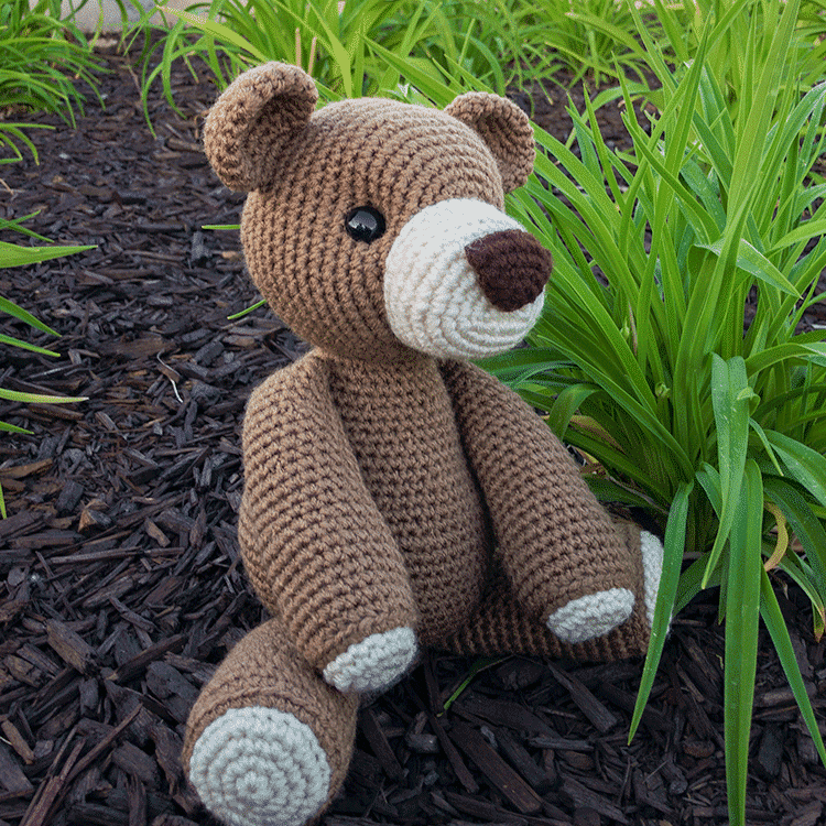 SIMPLE crochet teddy bear tutorial part 1 / beginner friendly ... | 750x750