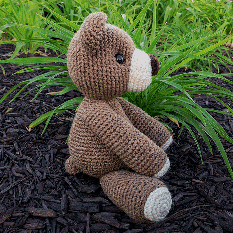 Free Crochet Bear Patterns – Amigurumi Patterns | Crochet bear ... | 750x750
