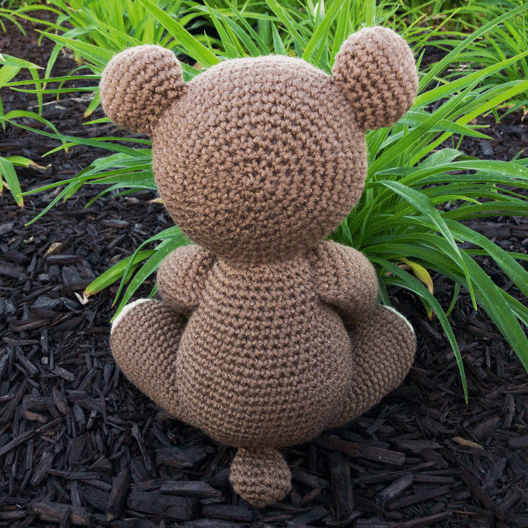Benedict the Bear Free Amigurumi Pattern