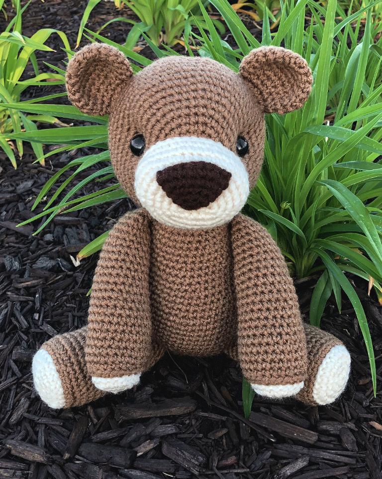 How to Crochet bear ears - YouTube | 961x768