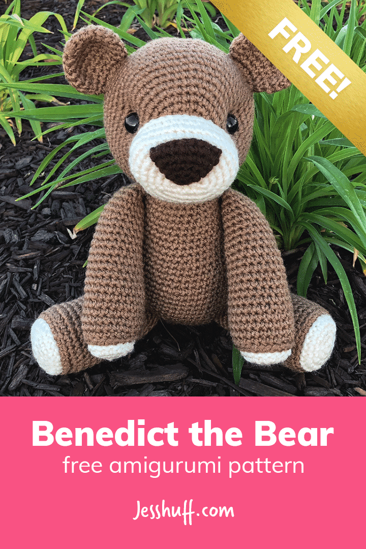 Teddy Bear Sleeper - Amigurumi - Free Crochet Pattern | 1080x720