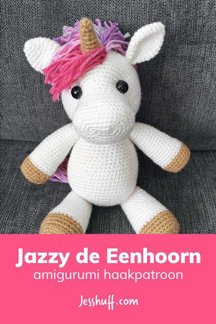 Jazzy de Eenhoorn Amigurumi Patroon