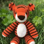 Thomas the Tiger Free Amigurumi Pattern
