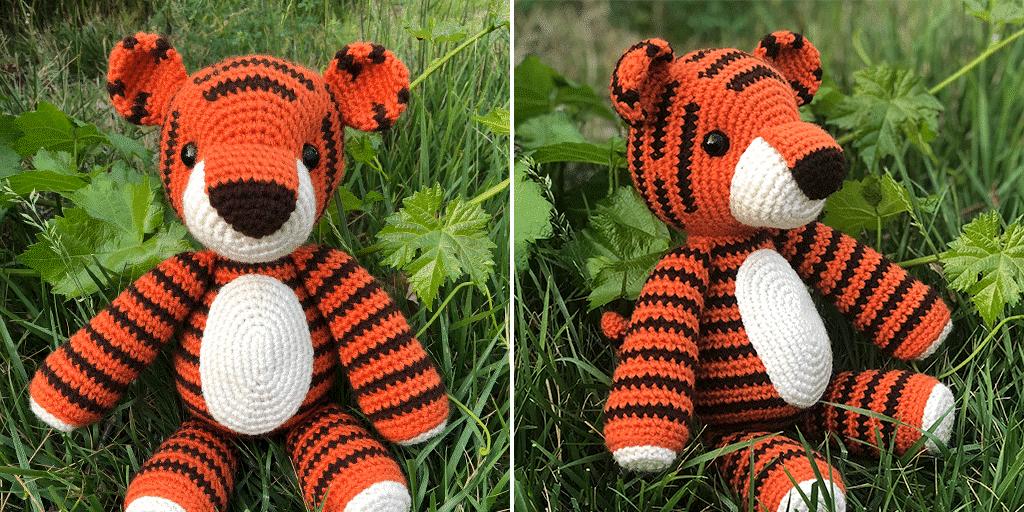 Tiger Crochet Pattern-STP-124 | 512x1024