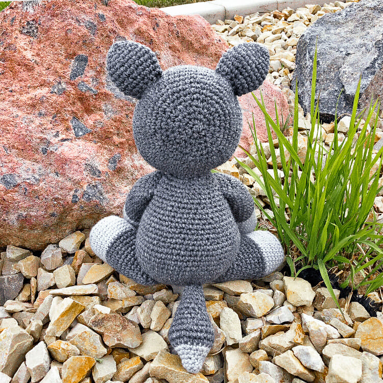 AMIGURUMI CROCHET PATTERN • wolf and fox • forest animal ... | 750x750