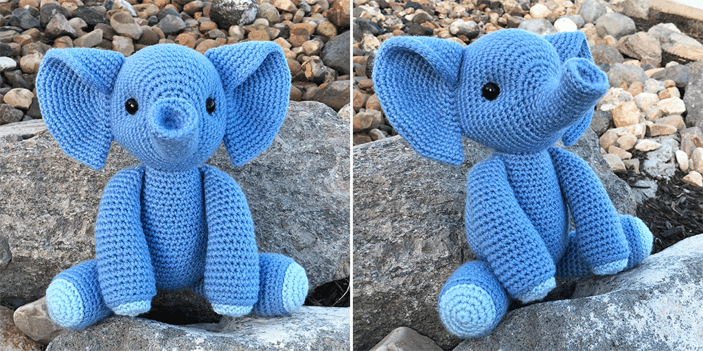 Esther the Elephant Free Amigurumi Pattern | Jess Huff