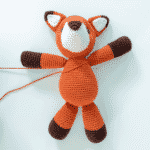 Amigurumi Tutorial: How to attach arms to a body