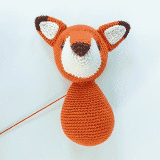 Amigurumi Tutorial: How to Attach a Closed Head to an Open Body
