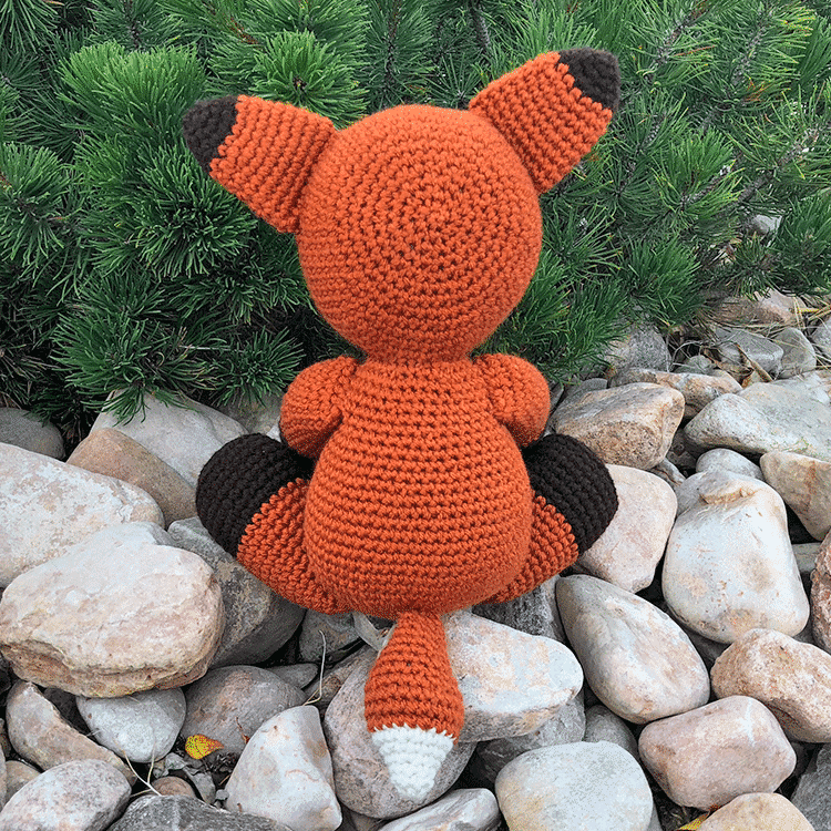 Fredric The Fox Free Amigurumi Pattern Jess Huff
