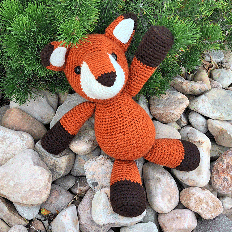 Foxes Archives - Amigurumi Today | 750x750