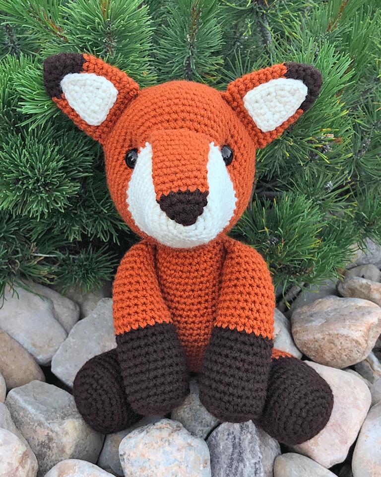Fredric The Fox Free Amigurumi Pattern Jess Huff