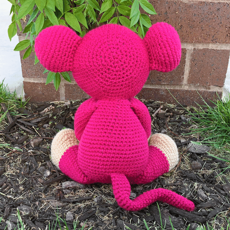 Free Naughty Monkey Amigurumi Pattern – Easy DIY | Crochet ... | 750x750