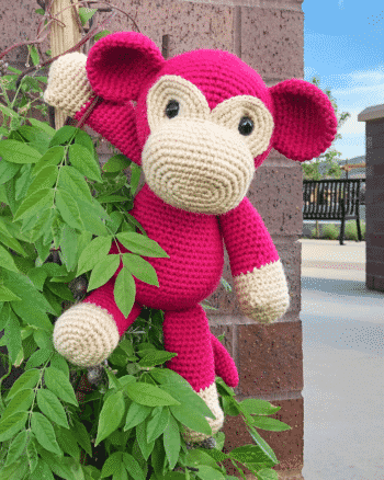 Mimi the Monkey Free Amigurumi Pattern