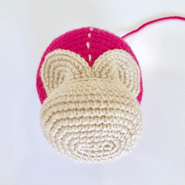 Mimi the Monkey Face Tutorial | Steps 2 & 3