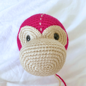 Mimi the Monkey Face Tutorial | Step 4