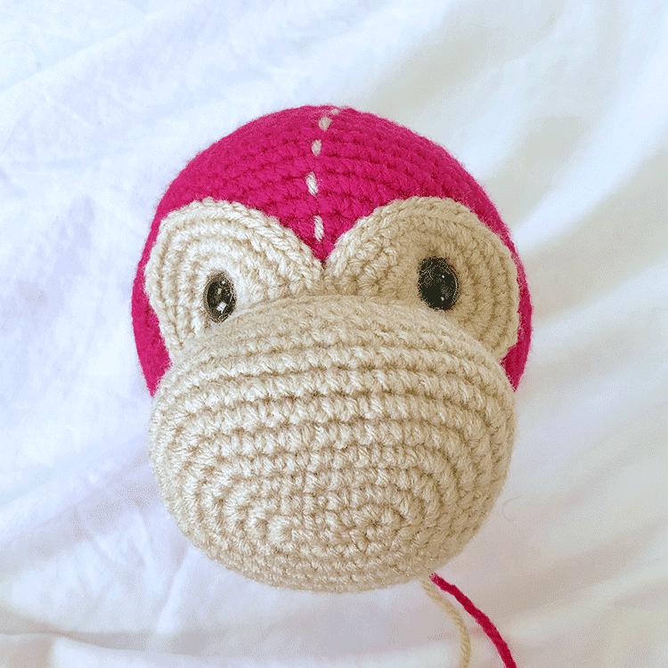 Mimi the Monkey Face Tutorial | Step 4