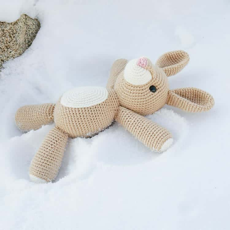 Rose the Rabbit Free Amigurumi Pattern