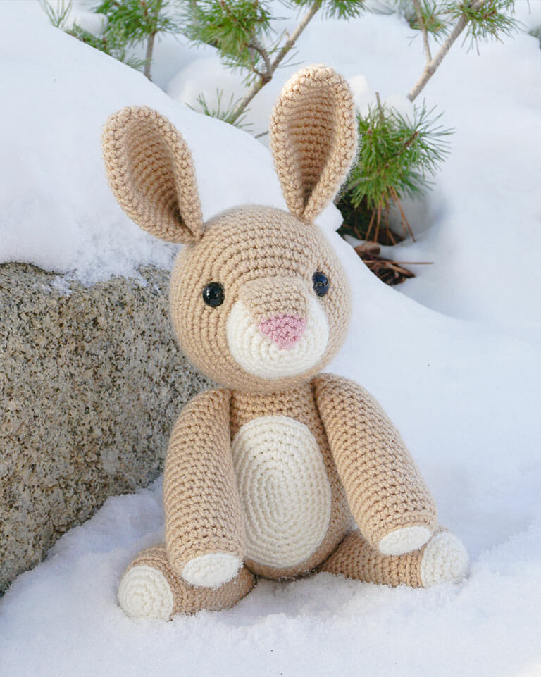Ravelry: Long-ear Rabbit pattern by Mari-Liis Lille | 961x768
