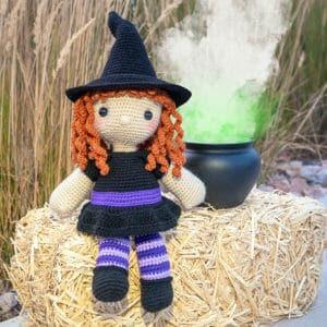 Regina the Witch Free Amigurumi Pattern
