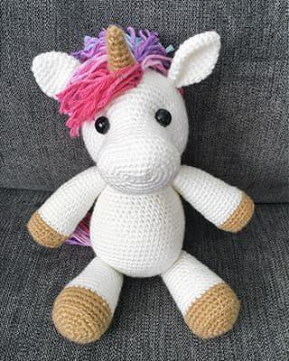Unicorn Crochet Pattern Free Amigurumi