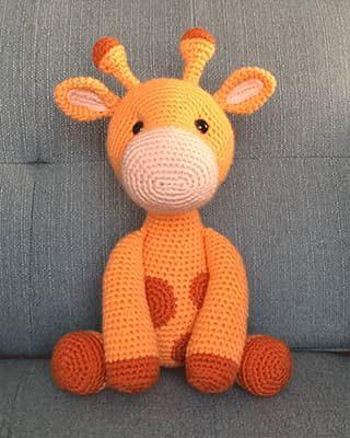 Giraffe Crochet Pattern Free Amigurumi