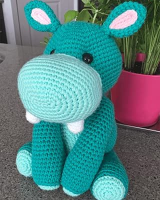 Hippo Crochet Pattern Free Amigurumi