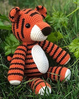 Tiger Crochet Pattern Free Amigurumi