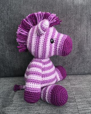 Zebra Crochet Pattern Free Amigurumi