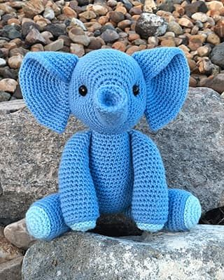 Elephant Crochet Pattern Free Amigurumi