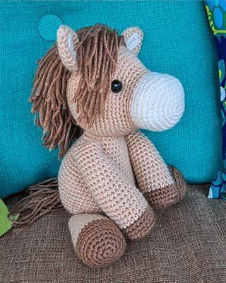 Horse Crochet Pattern Free Amigurumi