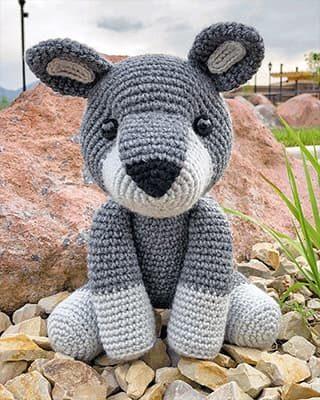 Wolf Crochet Pattern Free Amigurumi