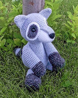 Raccoon Crochet Pattern Free Amigurumi