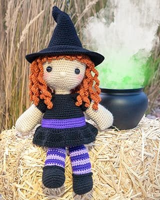 Witch Crochet Pattern Free Halloween Amigurumi