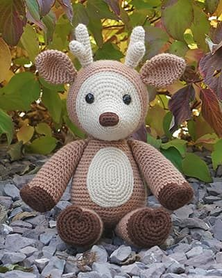 Deer Crochet Pattern Free Amigurumi