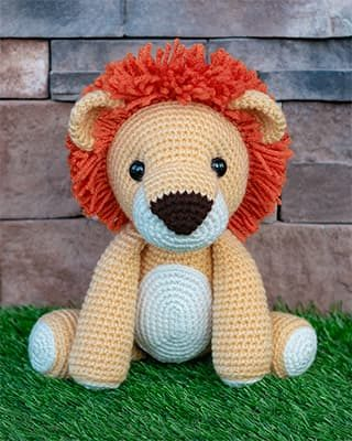 Lion Crochet Pattern Free Amigurumi