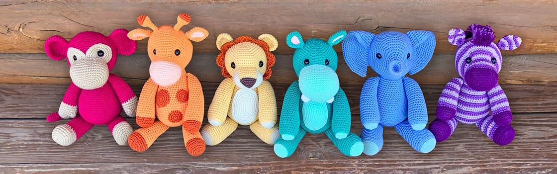 Free Safari Animal Amigurumi Crochet Patterns