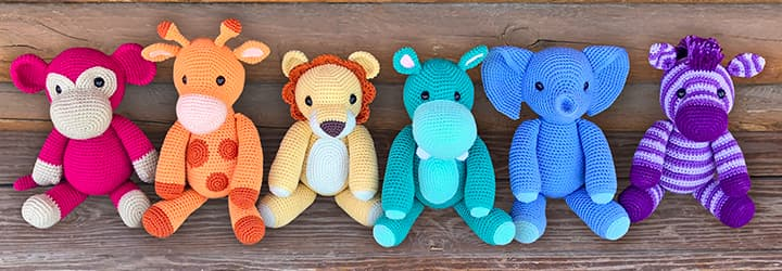 Free Safari Animal Crochet Patterns
