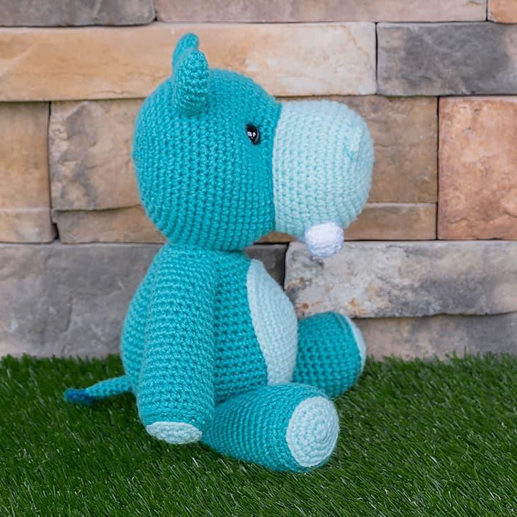 Crochet Hippo Pattern Free Amigurumi