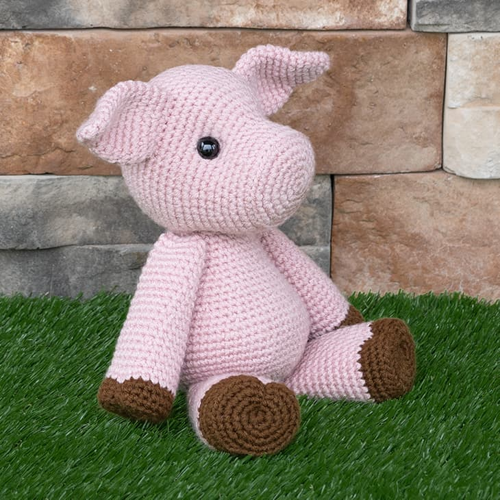 Crochet Pig Pattern Free Amigurumi